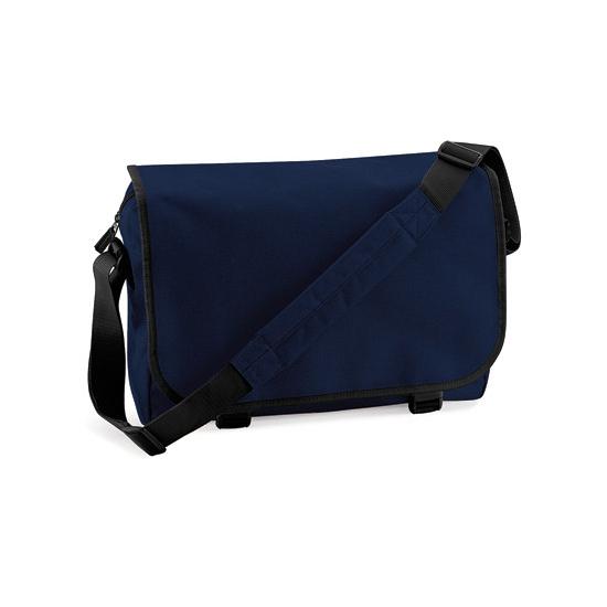 Boekentassen 11 liter navy blauw