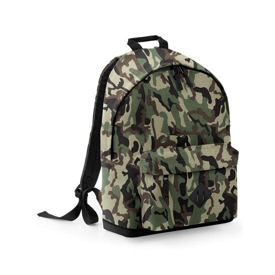 Camouflage rugzak 42 cm