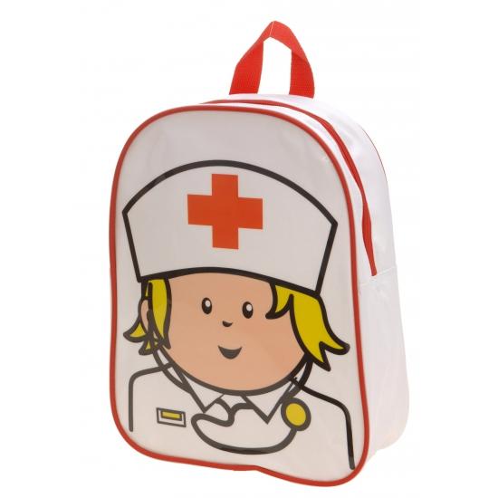 Carnaval kinder rugtas verpleegster