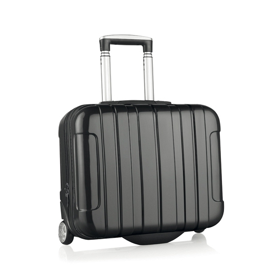 Handbagage trolley zwart