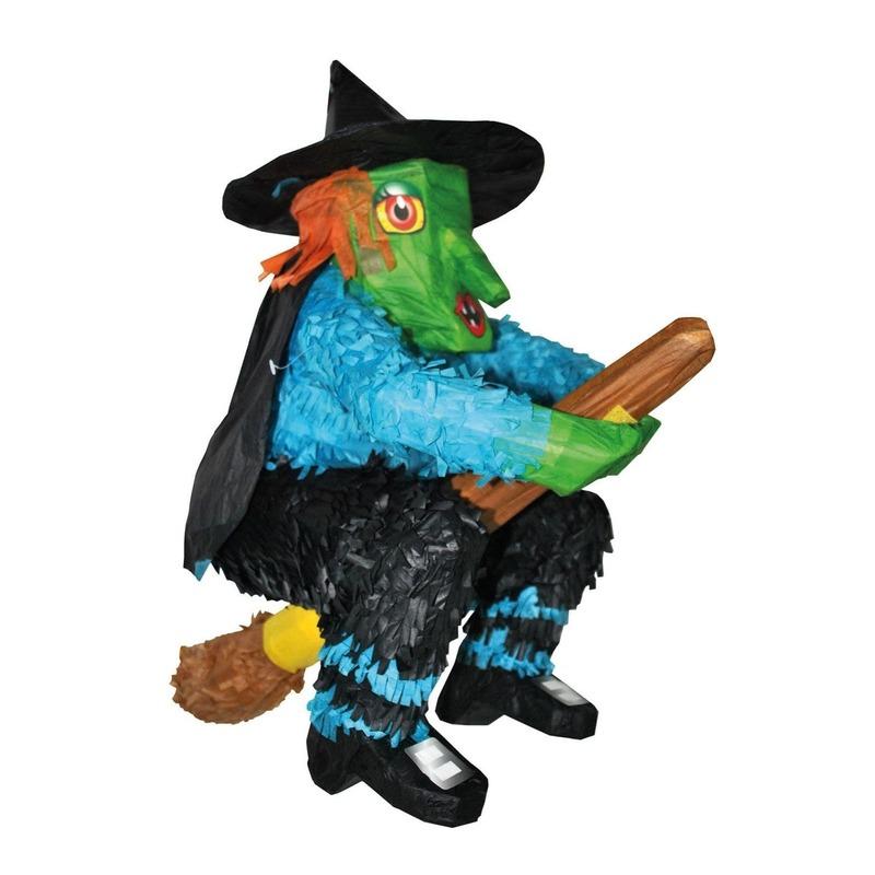 Heks Halloween pinata 48 cm