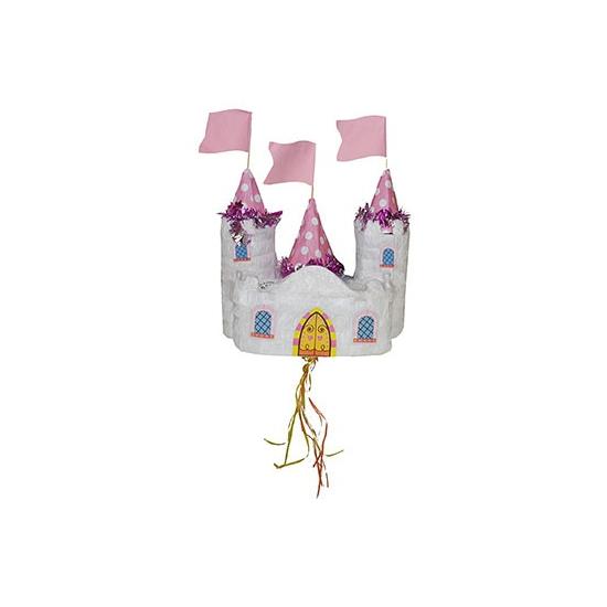 Kinderfeest pinata kasteel 30 cm