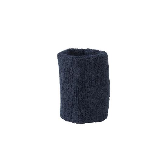 Pols zweetbandjes donkerblauw