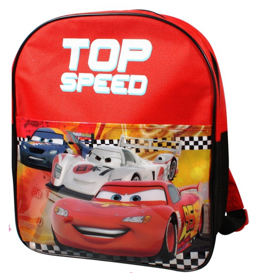 Rode Disney Cars rugtas