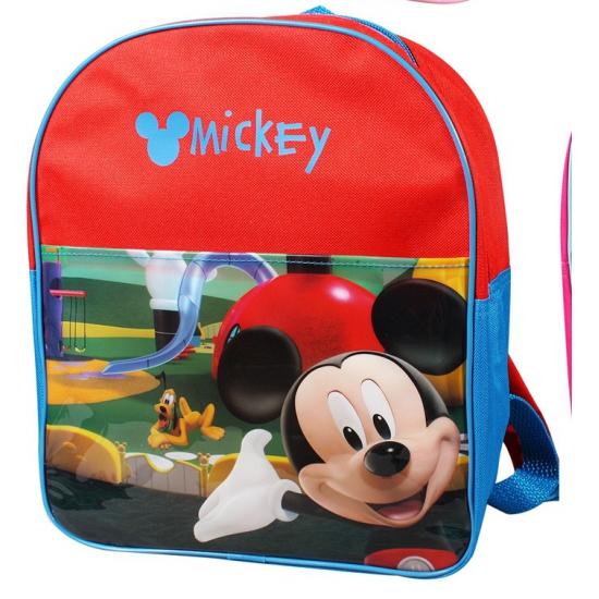 Rode Disney Mickey Mouse rugtas