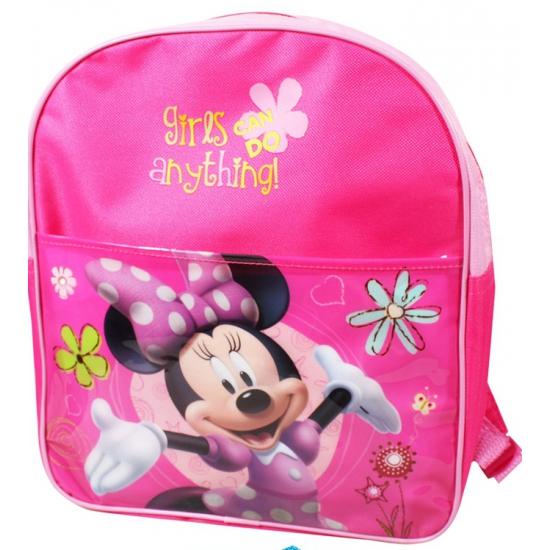 Roze Minnie Mouse tas voor meiden