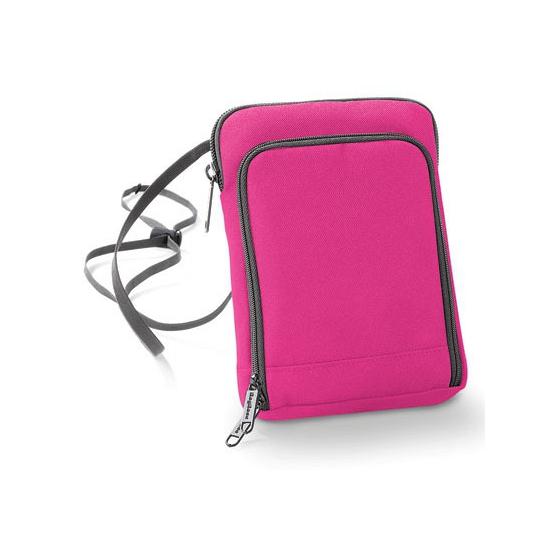 Roze paspoorttasje