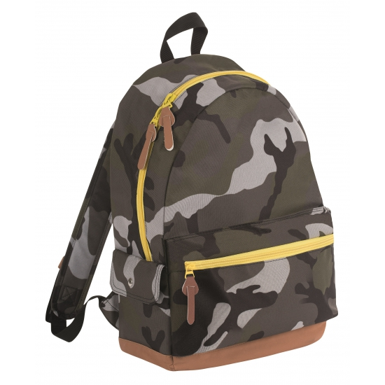 School rugzak camouflage 16 liter