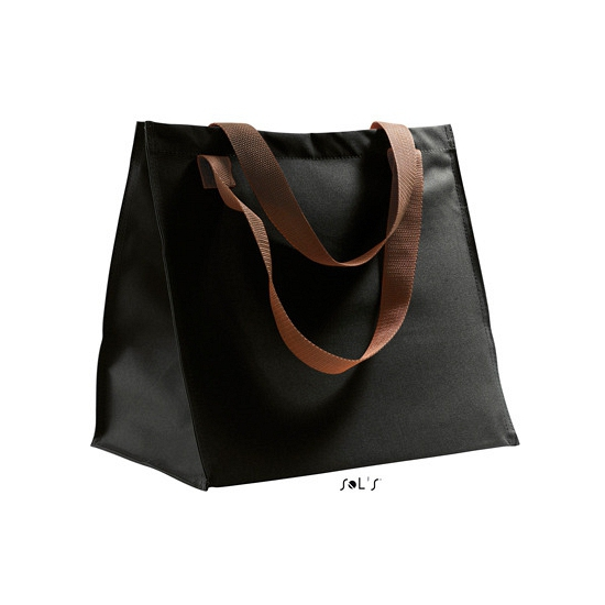 Shopping bag zwart 34 cm