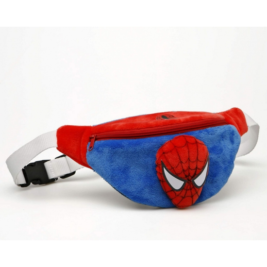 Spiderman heuptasje rood blauw