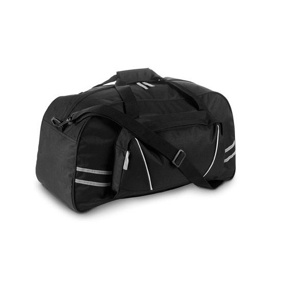 Sporttas zwart 600D polyester