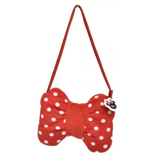 Stoffen handtas Minnie Mouse strik