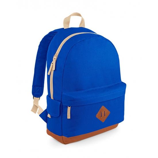 Vintage blauwe rugzak 18 l