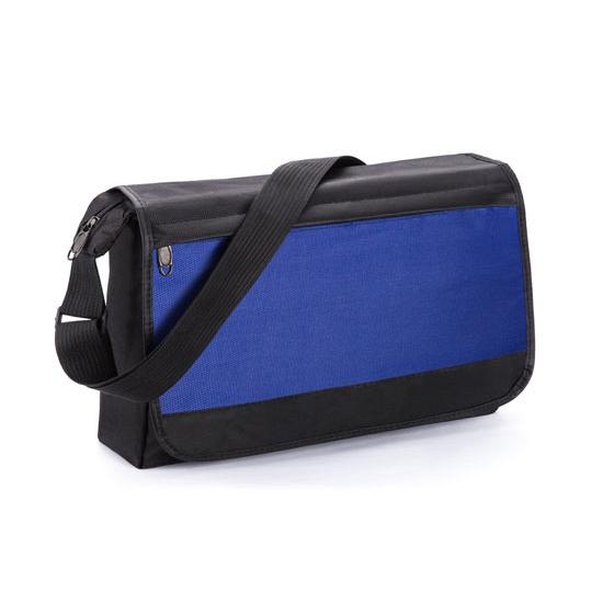 Voordelige schoudertas blauw