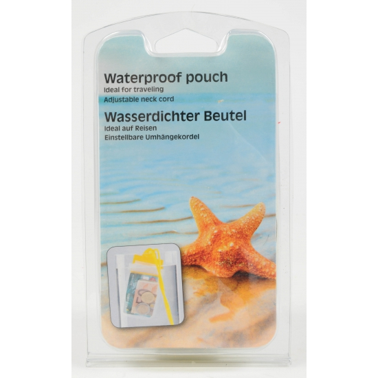 Waterproof tasje 14,5 cm