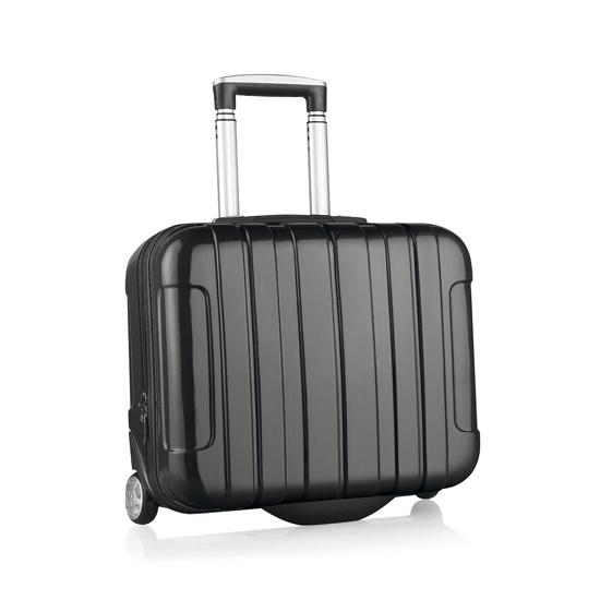 Zwarte reiskoffer klein formaat