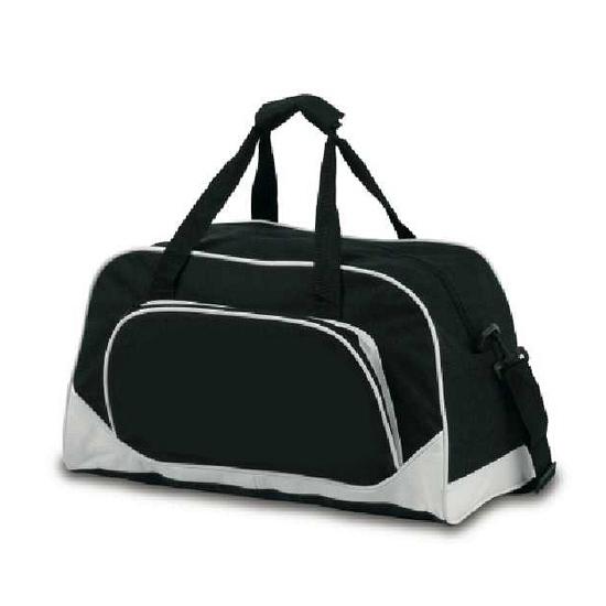Zwarte sport tas 42 cm