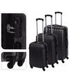 Grijze handbagage koffer 57 cm