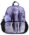 Kinder rugzak met olifanten print 32 cm