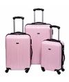 Lichtroze handbagage koffer 46 cm