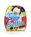 Mickey mouse kinder rugtas selfie 31 cm