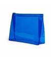 Mini toilettas blauw 17 cm