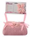 Roze prinsessen tasje