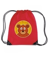 Beren rugtas gymtas rood voor kinderen