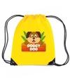 Doggy dog de hond rugtas gymtas geel voor kinderen