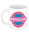 Natascha naam koffie mok beker 300 ml