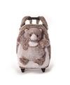 Pluche kindertrolley rugtasje kat poes 35 x 25 x 13 cm