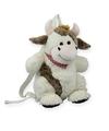 Pluche koe rugtas 20 x 36 cm