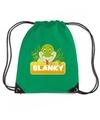 Slanky de slang rugtas gymtas groen voor kinderen