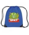 Spiky de dinosaurus rugtas gymtas blauw voor kinderen