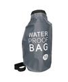 Zwarte waterdichte tas 10 liter