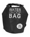 Zwarte waterdichte tas 2 liter